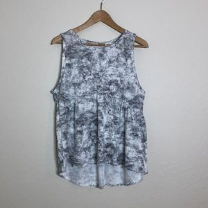 Paper Crane > Marble Color Sleeveless Top
